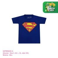 Baju Kaos Distro Anak Premium Karakter Hero A 1-8 Tahun Shirton