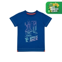 space race glow-in-the-dark t-shirt