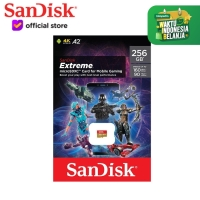 SanDisk Extreme 256GB A2 160MB/s MicroSD Card for Mobile Gaming