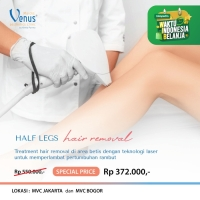 VOUCHER HAIR REMOVAL LEGS AREA