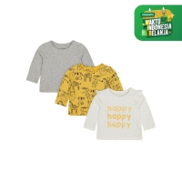 happy t-shirts - 3 pack