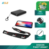 ECLE Gantungan HP / Kartu / ID Card Handphone Strap Lanyard Neck Strap