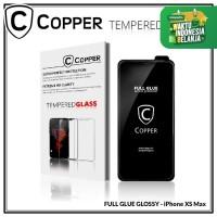 Iphone XS Max - COPPER Tempered Glass Full Glue PREMIUM