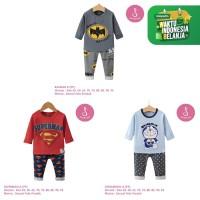 Setelan Baju Tidur Anak Laki-Laki Import Panjang 1-10 Tahun (5)