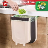 GM Bear Tempat Sampah Dapur Lipat 1207-Foldable Hanging Trash Bin