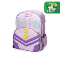MOOSCA / Train Backpack / Tas Anak / Lilac Snow