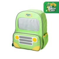 MOOSCA / Bus Backpack / Tas Anak / Spring Green