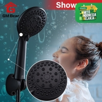 Gm Bear Shower Mandi Hand Shower Hitam-1186 Shower Set