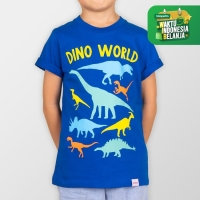 MOOSCA KIDS Dino T-Shirt Dino World Kaos Anak