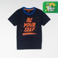 MOOSCA KIDS Be Yourself Graphic T-Shirt Kaos Anak