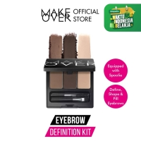 MAKE OVER Eye Brow Definition Kit - 02 Grey Brown