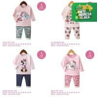 Setelan Baju Tidur Anak Perempuan Import Panjang 1-10 Tahun (3)