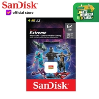 SanDisk Extreme 64GB A2 160MB/s MicroSD Card for Mobile Gaming