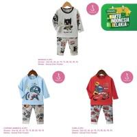Setelan Baju Tidur Anak Laki-Laki Import Panjang 1-10 Tahun (3)