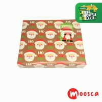 Tambahan Packing Box Natal+kertas kado - Xmas Gift Box+Wrapping Paper