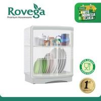 Rovega Rak Piring Plastik Premium Dish Drainer Paloma (Food Grade)