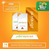 FibreFirst Twin Pack Weekly free Gym Towel