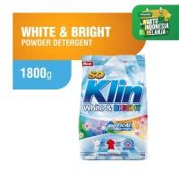 Soklin Deterjen Bubuk White Bright 1.8 kg