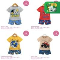 Setelan Baju Tidur Anak Laki-Laki Import Pendek 1-10 Tahun (1)