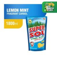 Supersol Karbol Lemon Mint Pouch 1800 ml