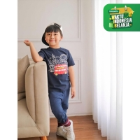 Moosca Kidswear London T-Shirt | Kaos Anak | Navy