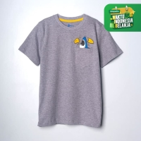 MOOSCA KIDS Sharky Pocket T-shirt Kaos Anak
