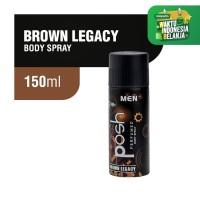 Posh Men Body Spray Brown Legacy 150 ml