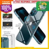 Case iPhone 12 Pro Max / Pro / Mini Spigen Quartz Hybrid Glass Casing