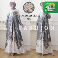 DRESS WANITA MUSLIM - GAMIS WANITA - DRESS ASTER