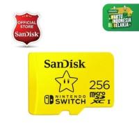 SanDisk Nintendo Switch 256GB 100MB/s MicroSD