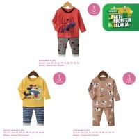 Setelan Baju Tidur Anak Laki-Laki Import Panjang 1-10 Tahun (3A)