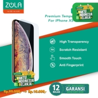 Zola Diamond 9H SuperHard Ultra Clear Iphone XS Max 6.5 Tempered Glass