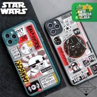 STAR WARS CASE IPHONE 6 6s 7 8 Plus X XS XR 11 PRO MAX casing hybrid