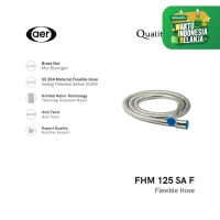 AER Selang Air Fleksibel Stainless Steel / Flexible Hose FHM 125 SA F