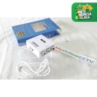 Alat Konverter HDMI Ke Kabel RCA AV Converter HDMI to RCA