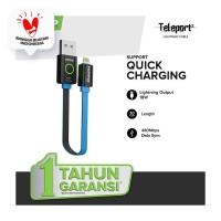 Hippo Teleport 2 Kabel Data Iphone Ipad Lightning 30cm