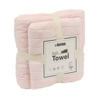INFORMA - HANDUK - BATH TOWEL SET SOLID 621 PINK