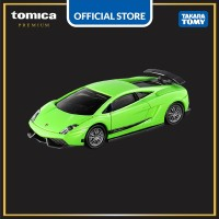 Tomica Premium #33 Lamborghini Gallardo Superleggera (Green)