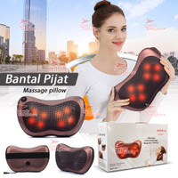 Bantal Pijat 8 Bola portable Car and Home Masaage Pillow speeds