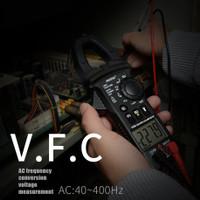 CM81 Digital Clamp Meter True RMS Multimeter AC/DC Volt Amp WS