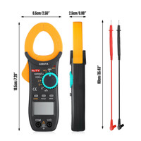 Digital Clamp Meter Tester AC / DC Volt Amp Multimeter Auto WS