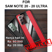 Case Samsung Note 20 - Note 20 Ultra casing cover leather tpu PORSCHE