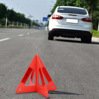 Cuque Warning Triangle Stop Sign Kit Foldable Portable Car Emergency