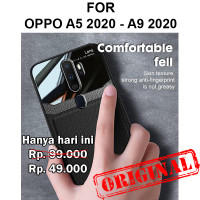 Case Oppo A5 2020 - A9 2020 casing hp cover silikon tpu MIRROR LEATHER