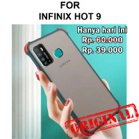 Case Infinix Hot 9 casing back cover fuze tpu mika slim matte SHIELD