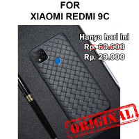 Soft case Xiaomi Redmi 9C casing hp cover silikon tpu anti panas WOVEN
