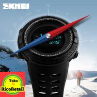 Jam Tangan Digital Pria Kompas Pedometer Kalori SKMEI - 1360 Hitam