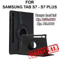 Case Samsung Tab S7 - S7 Plus T870 T875 T970 T975 FLIP COVER ROTATE