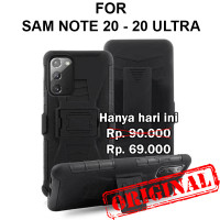Case Samsung Note 20 - 20 Ultra casing hp cover belt clip FUTURE ARMOR