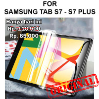 Samsung Tab S7 S7 Plus T870 T875 T970 T975 not tempered glass HYDROGEL